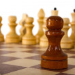 Chess pawn — Stockfoto