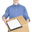 Royalty-Free Stock Photo: Courier