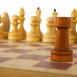 Stock Photo: Chess rook;chessman, chessmen
