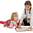 Royalty-Free Stock Photo: Children reading book
