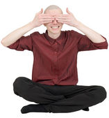See no evil — Stock Photo