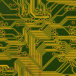 Royalty-Free Stock Photo: Circuit board background in hi-tech styl
