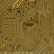 Stock Photo: Circuit board background in hi-tech styl