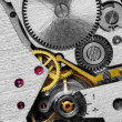 Foto de Stock  : Mechanism of a watch