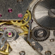 Foto Stock: Mechanism of a watch