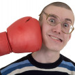The man taking a punch — Stock Photo #1047445