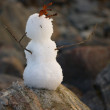 Stock Photo: Primitive snowball