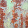 Royalty-Free Stock Photo: The painted peeled old wall