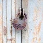 Rusty old padlock — Stock Photo #1786147