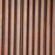 Rusty Iron fence — Stock Photo