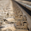 Railroad tracks — 图库照片