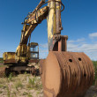 Old excavator — Stock Photo