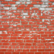 Royalty-Free Stock Photo: Decayed brick wall