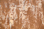 The rusty old wall — Stock Photo