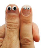 Two fingers — Stock Photo