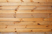 Yellow rough wooden wall — Stock Photo