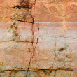Cracked surface of a rock — Stock Photo #1793305