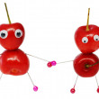 Funny sweet cherry — Stock Photo