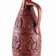Clay jug - Stock Photo