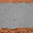 Royalty-Free Stock Photo: Framework made of an brick wall