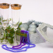 Stock Photo: New Year's still-life