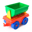 Stock Photo: Toy trailer