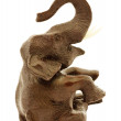 Stock Photo: Brown statuette of elephant