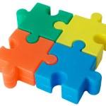Puzzle — Stock Photo