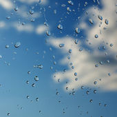 Water droplets — Stock Photo
