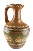 The big ceramic jug — Stock Photo