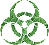 Foliage biohazard — Stock Photo