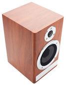 Acoustic speaker on a white — Stock Photo