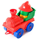 Toy steam-engine — Stock Photo
