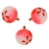 Cristmas tree balls — Stock Photo