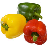 Sweet bell peppers — Stockfoto