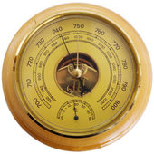 Antique barometer — Stock Photo
