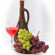 Bright still life with wine — Foto de Stock