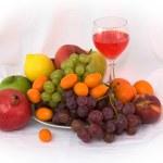 Bright still life with wine — Stock Photo #1801502