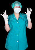 Assistant of doctor — Stock Photo