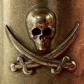 Skull and crossbones — Stock Photo