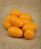 Pile of the kumquat — Stock Photo