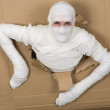 Stock Photo: Min costume mummy
