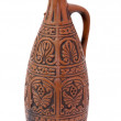 Ancient clay large bottle — Stock Photo