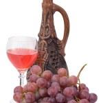 Bright still life with wine — Stock Photo #2263125