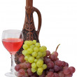 Bright still life with wine — Stock Photo #2263144