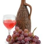 Bright still life with wine — Stock Photo #2267139