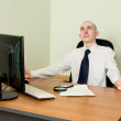 Manager on a workplace — Stock Photo #2268210