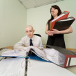 Royalty-Free Stock Photo: Bookkeeper and secretary on a workplace