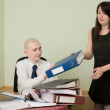 Bookkeeper and the secretary — Stock Photo #2269134