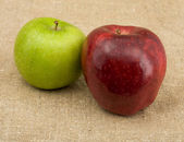 緑と赤リンゴ — ストック写真